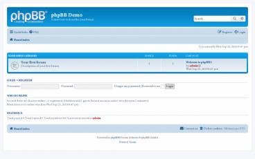 Bagaimana Cara Mengubah Gaya Dalam PHPBB