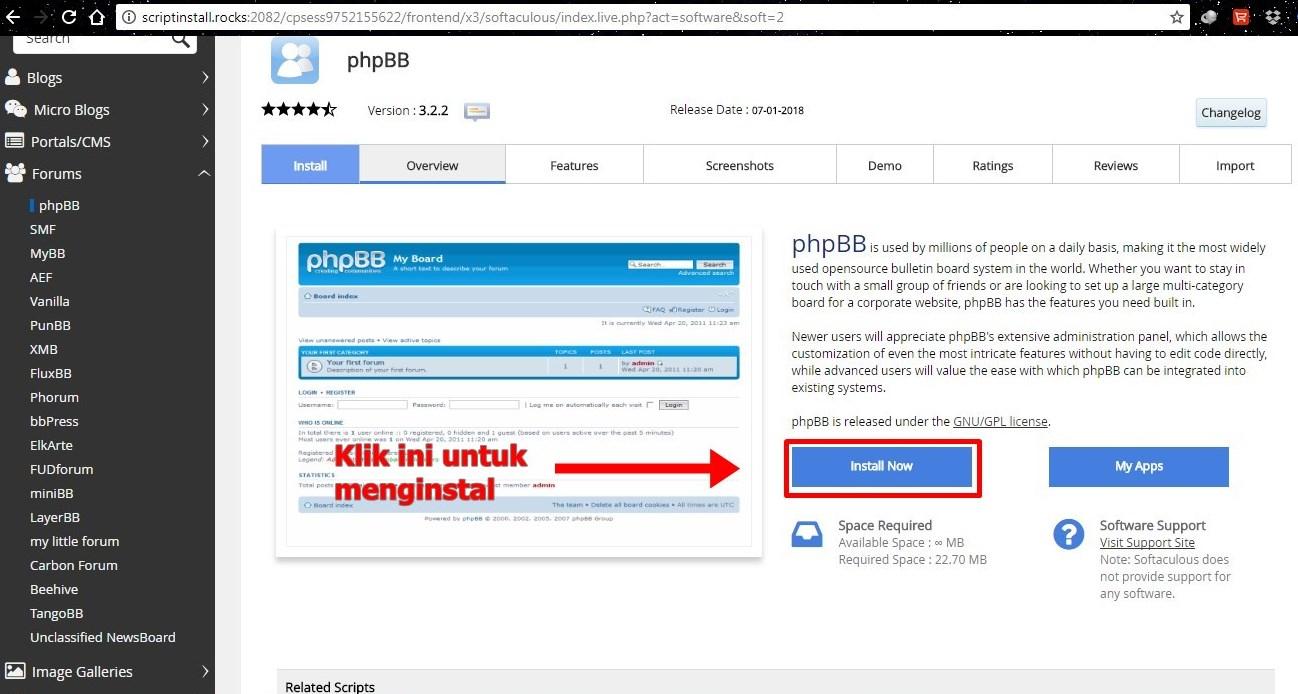 Konfigurasi WordPress Dengan Phpbb Agar Mudah