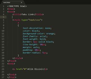 Buat style.css dan index.php di folder tema kustom Anda