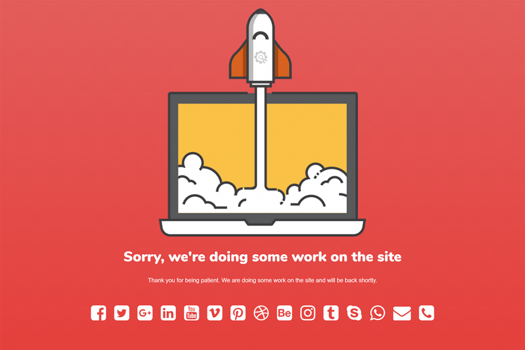 Di bawah plugin Konstruksi di bawah WordPress