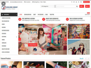 Toko Online Tema WordPress Indonesia