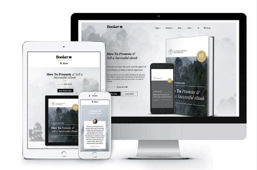 Tema Ebook WordPress Responsif