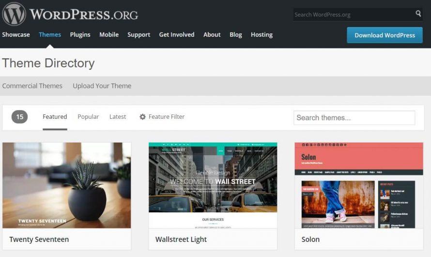 Tutorial Membuat Desain Tema WordPress Terbaik