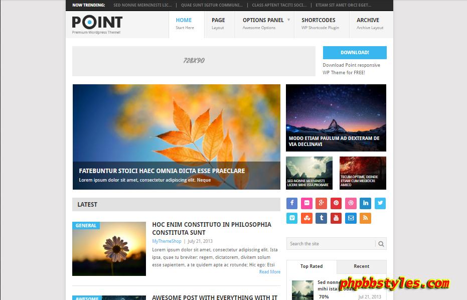 Template WordPress Premium Gratis Dan Cepat
