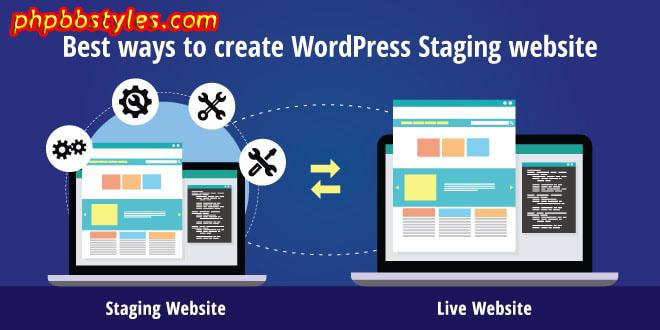 WordPress Staging Environment