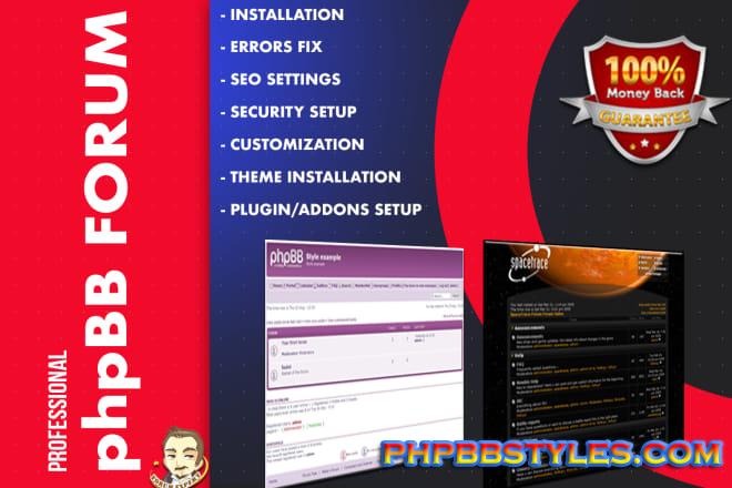 Cara Yang Benar Untuk Install PhpBB Forum